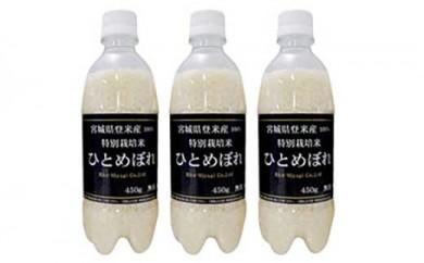 RM745-C【30年度産】ようきな米(ペットボトル入り米)450g×3本