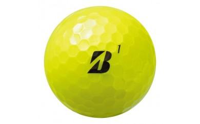ゴルフボールTOUR B JGR(ツアービージェイジーアール)イエロー 1ダース