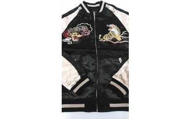 【XLサイズ】横須賀柄刺繍スカジャン