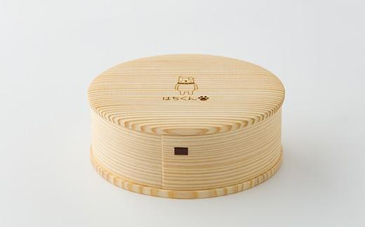 60P6007【大館曲げわっぱ】はちくん白木箱B~白びな~【60P】