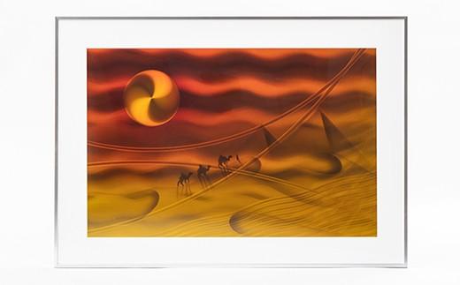 M234S01 スピンアート 砂漠