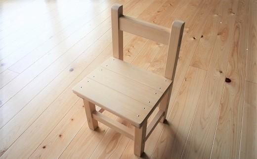 BE-1.【かわいい手作り家具】子供用 木育チェア