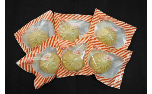 E02-冷凍.「つや姫」玄米こめ粉使用「尾花沢牛肉まんミニ」6個