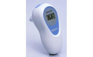 オムロン いざという時に役立つ 耳式体温計 MC-510 白