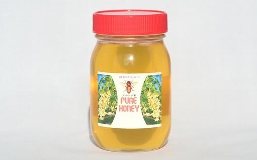 【数量限定!】国産アカシアはちみつ 600g【純粋蜂蜜】