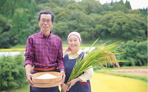 B2-1401 H30年産・新米「ごんべい米」食べ比べ(玄米3kg・白米3kg)