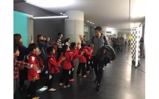 【Bコース】北海道コンサドーレ札幌 タオルマフラー&バックヤードツアー