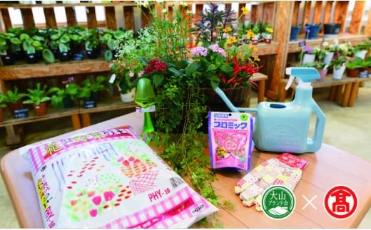 【18331】〈とっとり花回廊〉季節の寄せ植え~ガーデニングスターターセット~