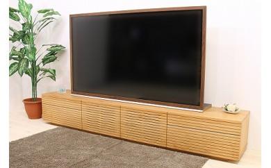 風雅 Type2 テレビボード テレビ台 W2200 ブラックチェリー