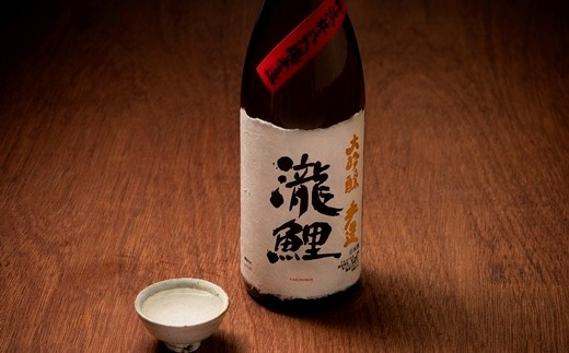 506:櫻正宗 瀧鯉 大吟醸 手作り 1.8L(箱入り)