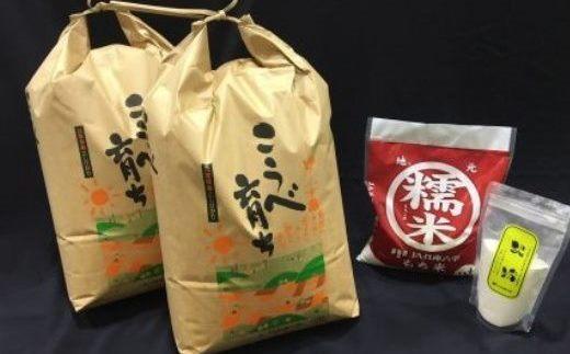 こうべ育ち「コシヒカリ」お米セット(2)