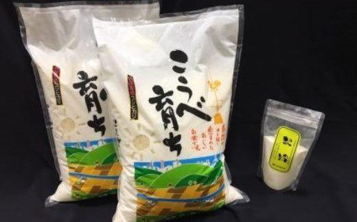 こうべ育ち「コシヒカリ」お米セット(1)