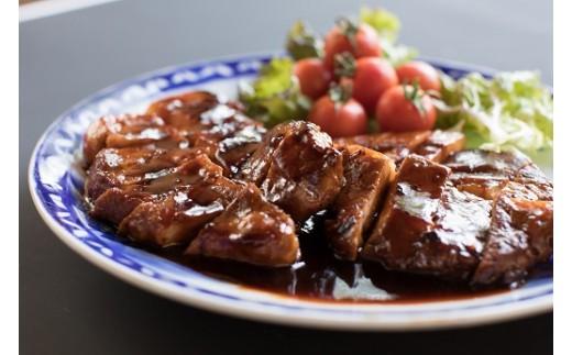 創業大正九年 日本料理 小伴天 昭和の味 三河とんてき