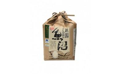 『新潟県認証米』魚沼産コシヒカリ特別栽培米2kg