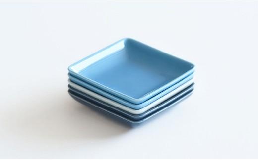 QA67 【波佐見焼】イロトリドリ角皿6枚セット【natural69】-8