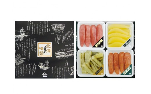 【B6201】【北海味栞】 4種の魚卵セット