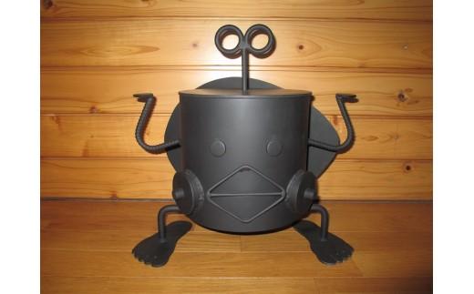 【AL-1】ロボット型七輪 しち衛門