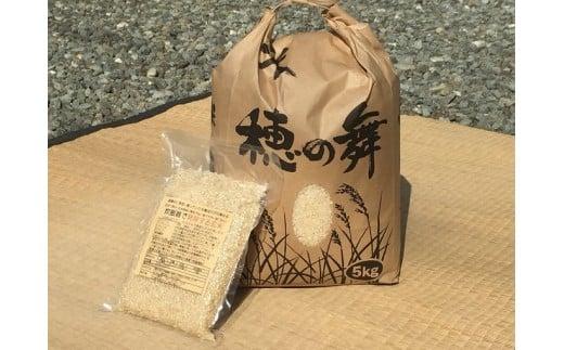 B-54 木村義昭さんのコシヒカリ5kgと炊飯器で発芽する玄米3合セット