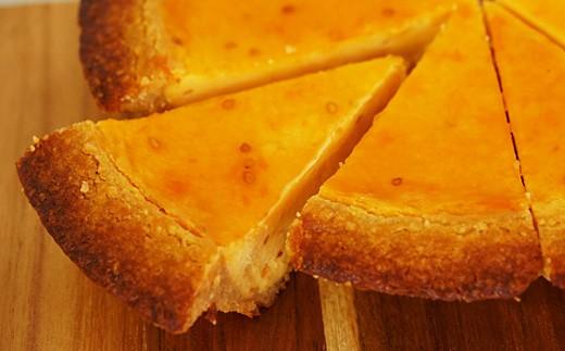 [№5725-0150]フルーツトマトのベイクドチーズケーキ 直径18cm