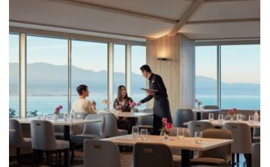 [グラスシャンパン付]琵琶湖の眺望と共にお楽しみいただくアフタヌーンティー