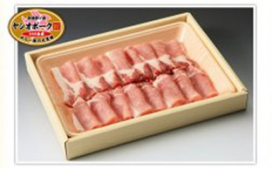 ヤシオポーク匠 豚ロース焼肉用