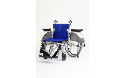 【両車輪がパッと開く、お出迎え車椅子】座助