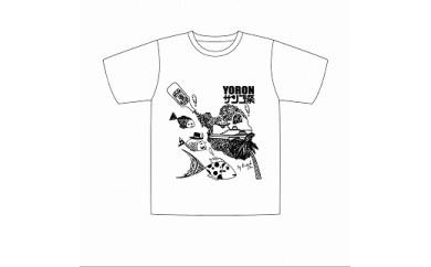 おしゃれなヨロン島サンゴ祭りオリジナルTシャツ(S)