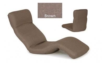 [№5673-0167]中立姿勢でくつろげる 腰に優しいゆらゆら寝椅子(ブラウン、グリーン、ベージュ)