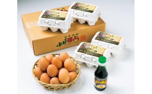 A0011 純国産鶏種 ぶんご活きいき卵「岡崎おうはん卵」