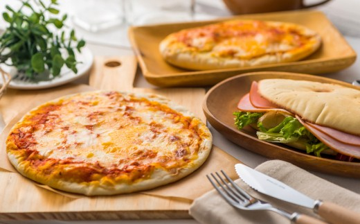お家で作ろう!パニーノとピザのセット【最高に美味しいピザを届けたい!】