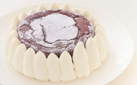 低糖質ガトーショコラホール2