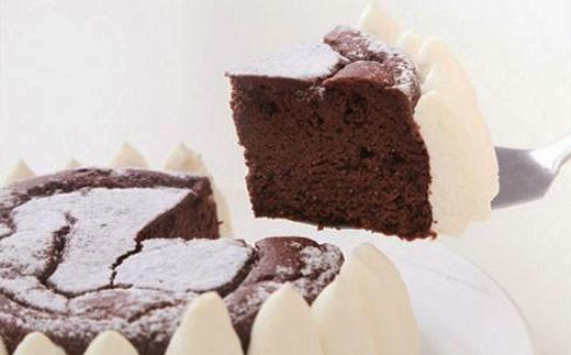 低糖質ガトーショコラホール3