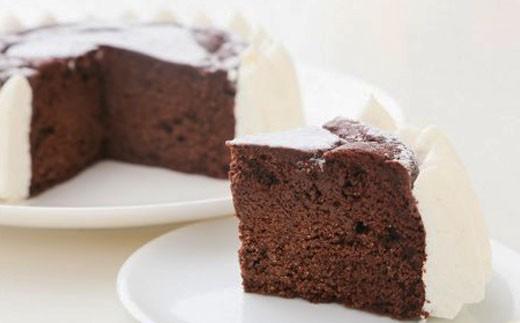 低糖質ガトーショコラホール4