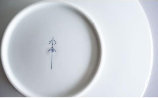 RA35 【波佐見焼】和モダンシリーズ15㎝取り皿(青)5枚セット【永峰製磁】-3