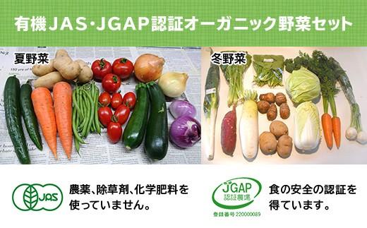 432 有機JAS・JGAP認証/オーガニック野菜セット