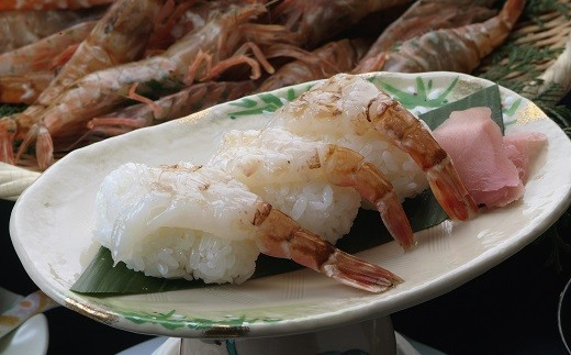 刺身は甘えびよりも身がしっかりしていて、甘味旨味も甘えび以上と言われることも(画像:調理イメージ)