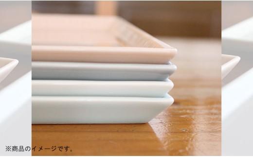 VA24 【波佐見焼】スマートコンパクト 角シリーズ(ホワイト・白磁セット)【陶芸ゆたか】-5