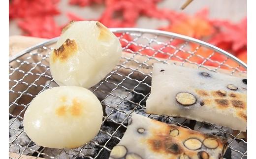 B-106 高本さんのお母さんが作るつきたてのおもちB(丸餅2㎏、切り餅500g)