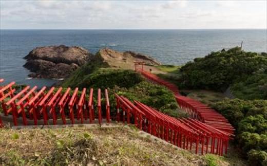「元乃隅稲荷神社」カラー