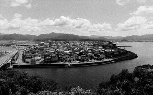 「王子山」白黒