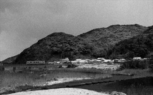 「三隅 久原山」白黒