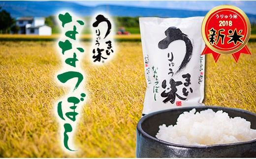 [A19]うりゅう米ななつぼし 5kg×2袋 H30年産