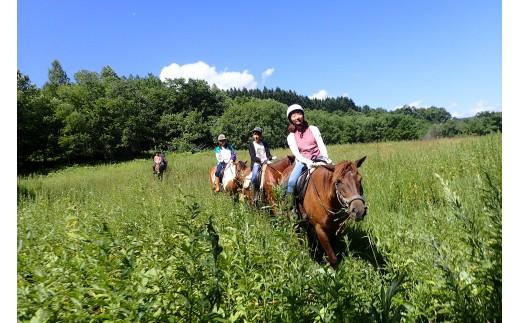 乗馬体験<ペンケコース>