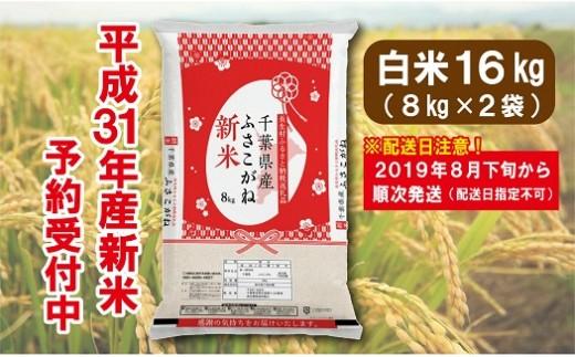 E01-003 長生産ふさこがね(白米16kg)平成31年産新米 ※2019年8月下旬から配送