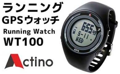 Actino WT100 Running GPS Watch (ランニングGPSウォッチ)&土佐カントリークラブオリジナルタオル【セット商品】
