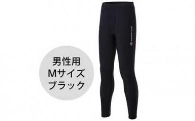 防寒用ロングタイツ(男性用Mサイズ・黒)