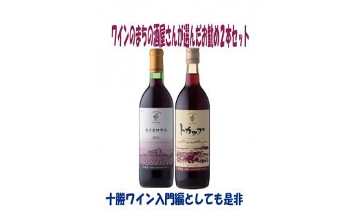 A002-1 「十勝ワイン」 村田商店おすすめセットA