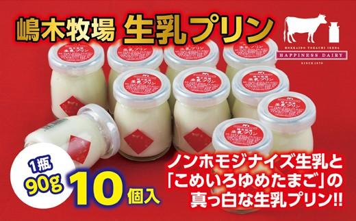 A031-2-1池田高校生徒おすすめ!  【北海道生乳100%使用!真っ白なプリン】