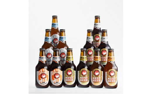 (48)常陸野ネストビール 12本セット [髙島屋選定品]