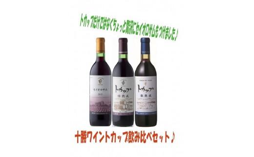 A002-2 「十勝ワイン」 トカップ飲み比べセット